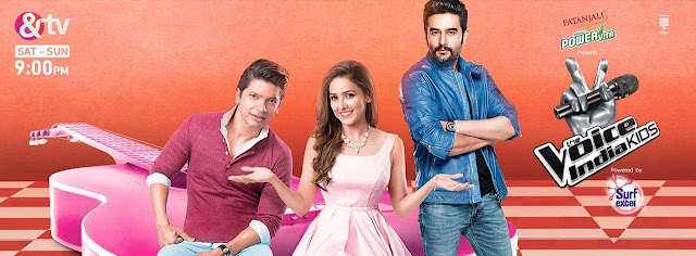 'The Voice India Kids' Singing Reality Show on &Tv  in Hindi,Judges,Timing