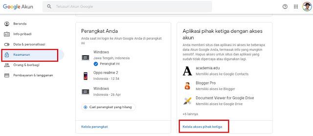 Cara Menghapus Akses Aplikasi Zoom di Akun Google