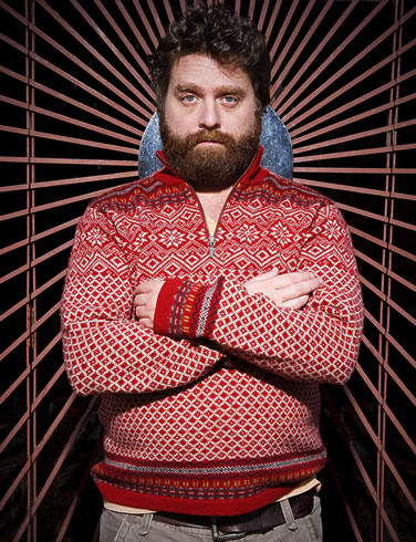 Zach Galifianakis, photo by Matthew Rodgers