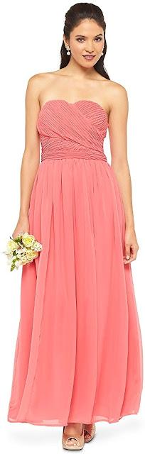 Best Chiffon Strapless Maxi Dresses