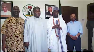 Ooni Of Ife Pays Visit To Enugu Governor, Ifeanyi Ugwuanyi At The State House (Photo)