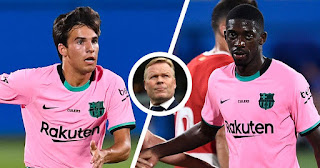 Koeman indirectly name Fati, Pedri and others as Barcelona future' without Puig and Dembele