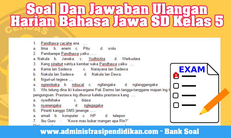 Kunci Jawaban Tantri Basa Jawa Kelas 6 Hal 16