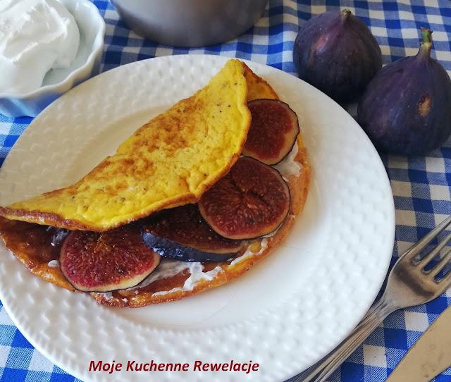 omlet z figą