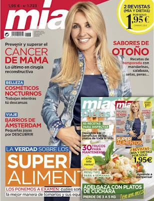 Revista Mia y revista Dietas octubre 2019