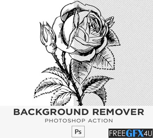 White Background Remover Photoshop Action
