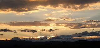 Golden as the sun descends