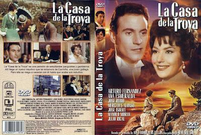 Carátula dvd: La Casa de la Troya (1954)