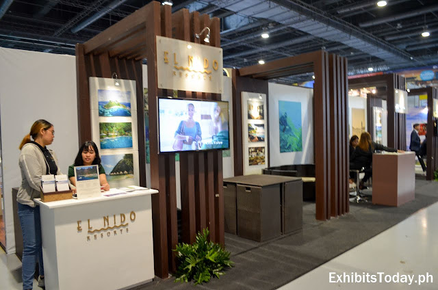 El Nido Resorts exhibit booth