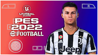 Download eFootball PES 2022 PPSSPP New Update Pro Edition V1.2 Real Faces Best Graphics & Full Latest Transfer