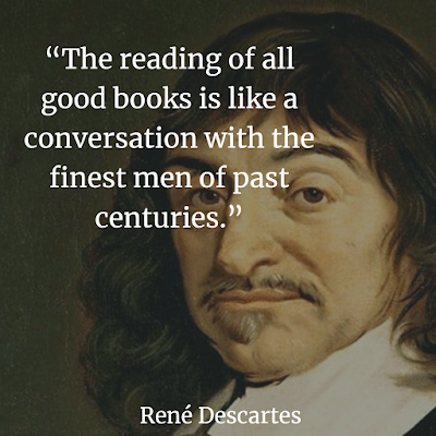 Rene Descartes about reading
