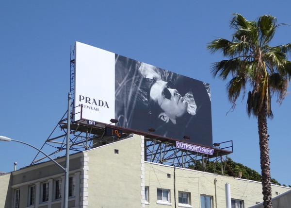 Jude Law Prada Eyewear Spring 2017 billboard