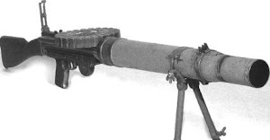 Lewis automatic machine gun