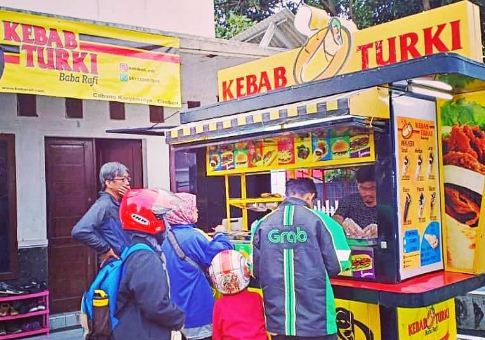 Franchise Kebab Turki Terlaris Baba rafi, Arabian dan Alibaba