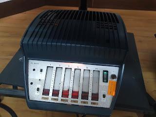 Power amplifier tube amp vintage Philips EL 6425 /EL 6415 cinema valve mono 50s (Used) 20210615_162539