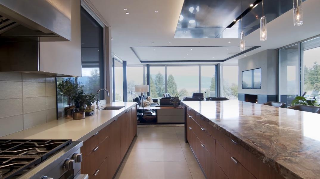 96 Interior Design Photos vs. 5679 Newton Wynd, Vancouver, BC Ultra Luxury Modern Mansion Tour