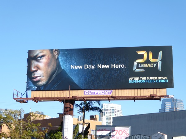 24 Legacy series premiere billboard