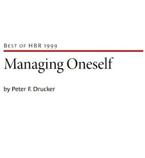 Managing Oneself By Peter F. Ducker In Pdf