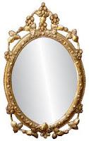 shaving in mirror in dream
