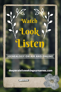 Genealogy On Air & Online - Spotlighting Audio and Visual Content for Genealogy