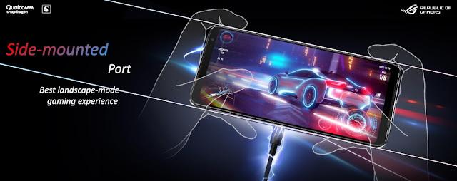 Side-mounted Port ROG Phone 3