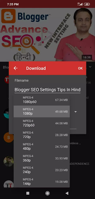 10 Best Youtube Video Downloader For Android In Hindi