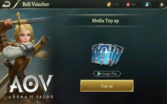 Cara Top Up Voucher Aov (Arena Of Valor) Pakai Pulsa Semua Provider
