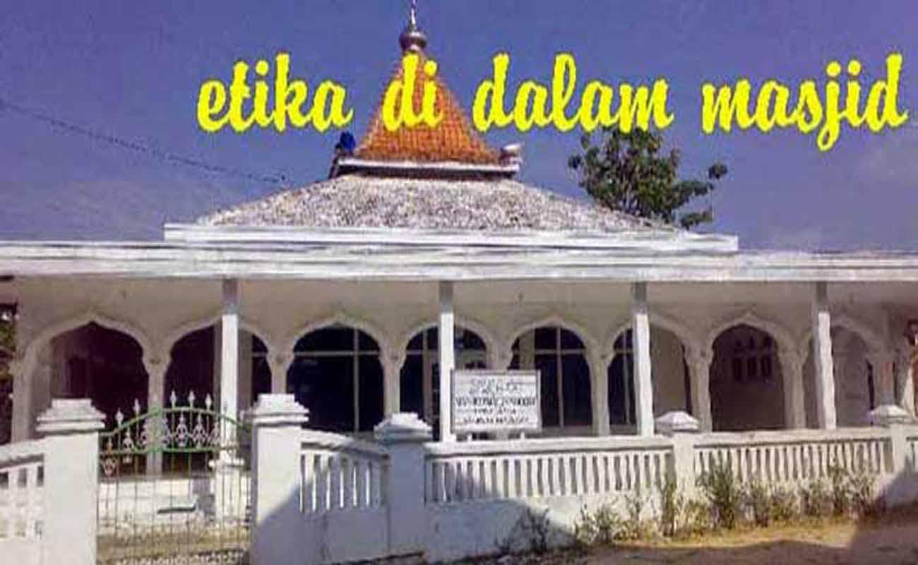 Etika Di dalam Masjid