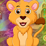 Games4King Majestic Lion Rescue
