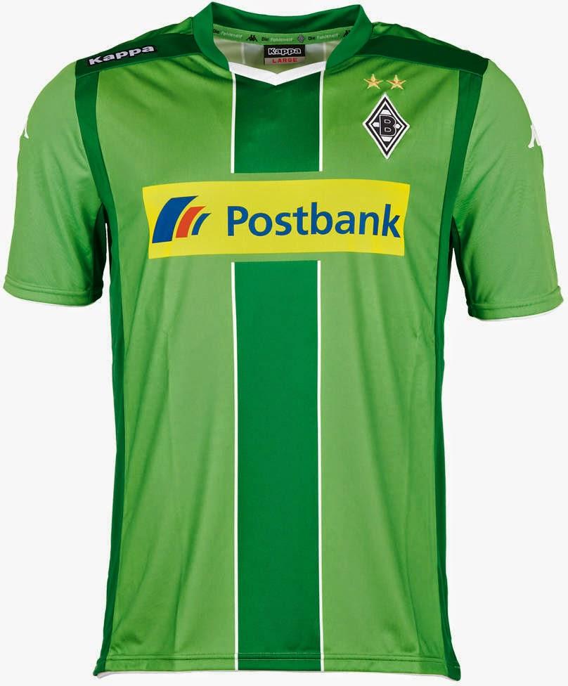 b06b380b774a6 O Borussia M gladbach apresentou sua nova camisa de visitante para a  temporada 2014 2015 da Bundesliga. Vale lembrar que o clube já havia  lançado ...