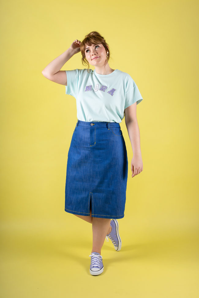 Ness skirt sewing pattern - Tilly and the Buttons