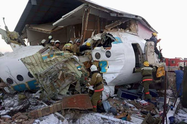 aircraft Jade 92100 carrying 100 people has crashed