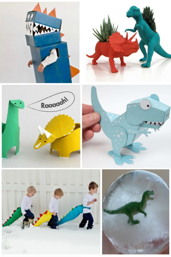 35+ Dinosaur activities and crafts for kids.  Ideas for all ages! #kidsdinosaurcrafts #dinosauractivities #dinosaurcrafts #dinosaurcraftspreschool #dinosaurcraftsforkids #dinosaurparty #dinosaureggs #dinosauractivitiespreschool #dinosaurkidscrafts #kidsactivities #kidscrafts #growingajewledrose
