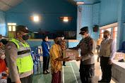 Polisi Banyumas Blusukan Berikan Bantuan Sosial