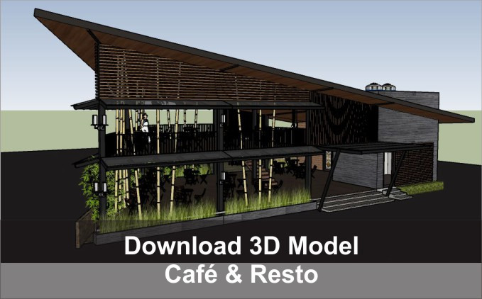 download 3d cafe dan restoran
