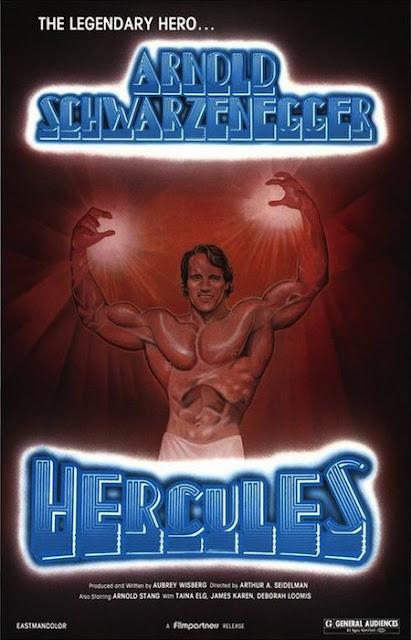 Poster película Hercules