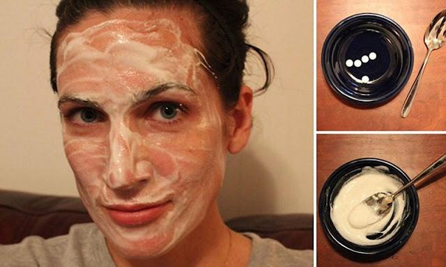 Que se passe-t-il au visage si on y applique ce mélange de miel et de l'aspirine
