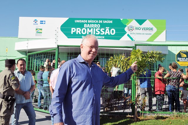 Rio Verde: Município recebe nova Unidade de Saúde