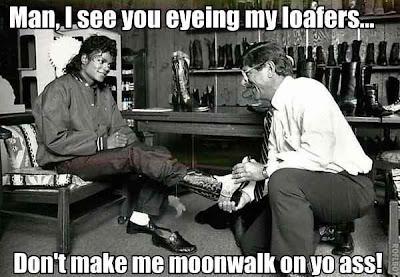 Michael Jackson Loafers Meme