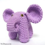 http://www.howtoamigurumi.com/crochet-stuffed-elephant-pattern/