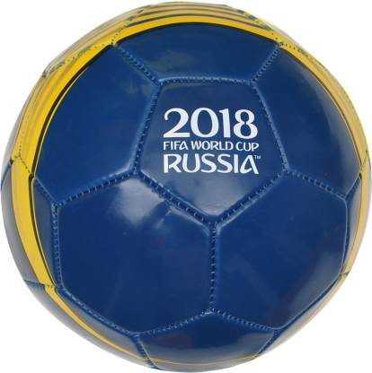 Rs,199/- FIFA World Cup Russia Sports Football - Size: 5  (Pack of 1, Blue, Yellow)