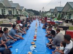 Mempererat Silaturahmi, Warga Yonarmed 1 Kostrad Adakan Acara Buka Bersama di Malang