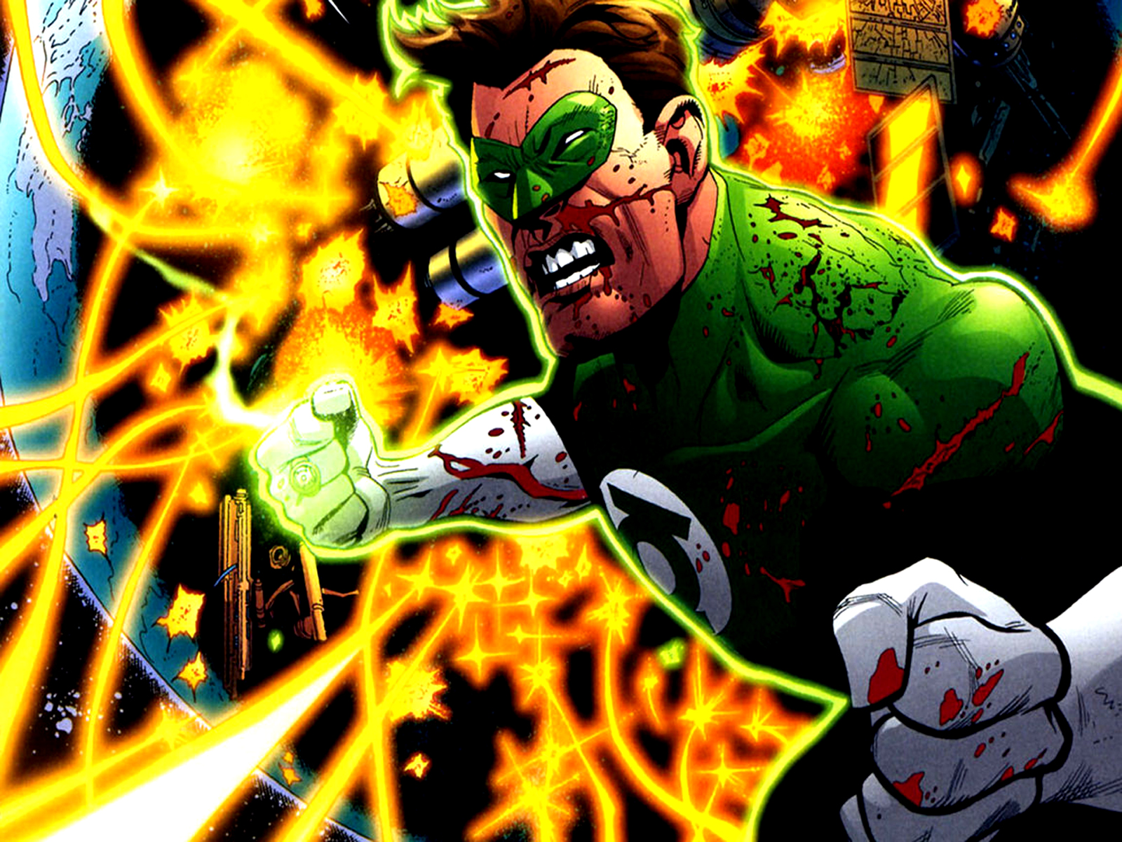 Green Lantern DC Comics HD Wallpaper | Desktop Wallpapers