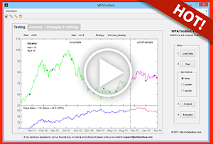 MatlabTrading: Testing and Analysis of Algorithmic Trading