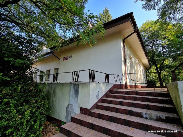 Warszawa Warsaw Targówek ośrodek kultury architektura architecture lata 50. Bródno