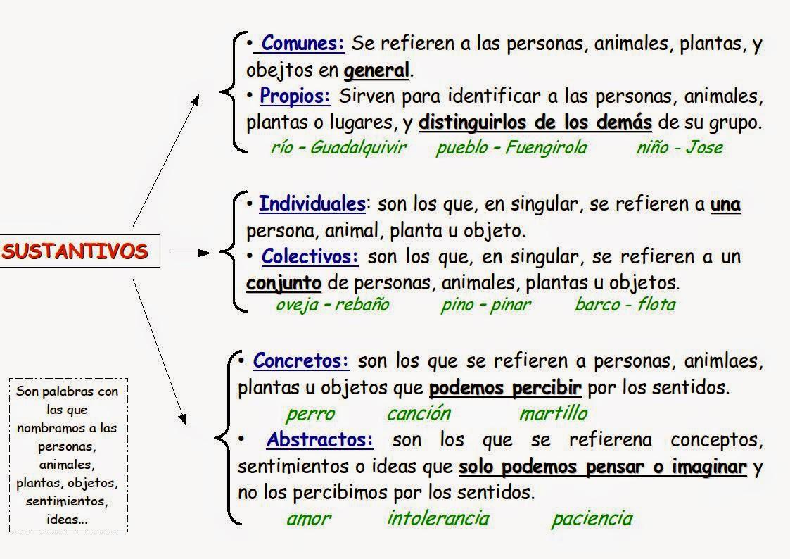 20 Ideas De El Sustantivo Sustantivo Sustantivos Y Sus Clases Sustantivos Individuales Y Colectivos