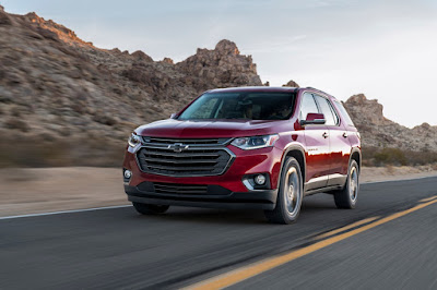 2018 Traverse RS Offers Custom Styling & Turbocharged Performance