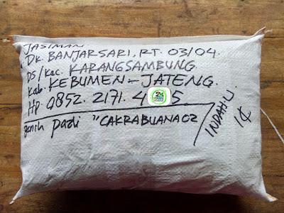Benih Pesanan   JASIMAN Kebumen, Jateng.  (Setelah Packing)