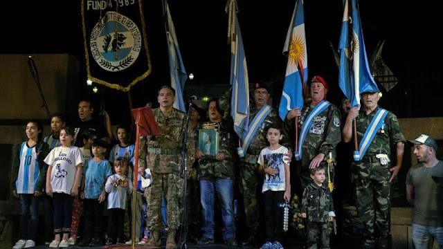 Veteranos de Malvinas conmemoran 35º aniversario de la Guerra
