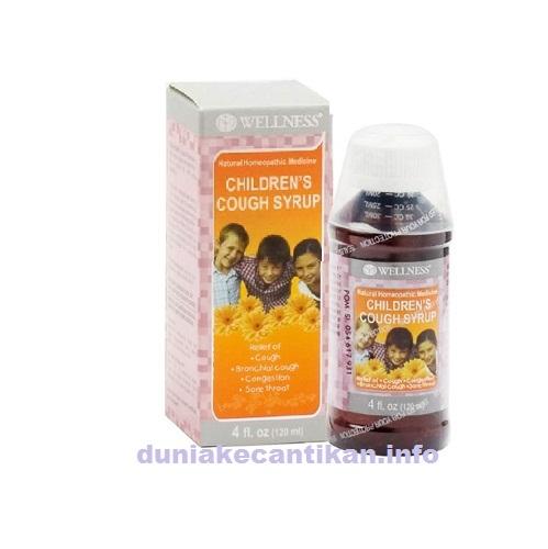 Wellness Childrens Cough Syrup Obat batuk anak-anak